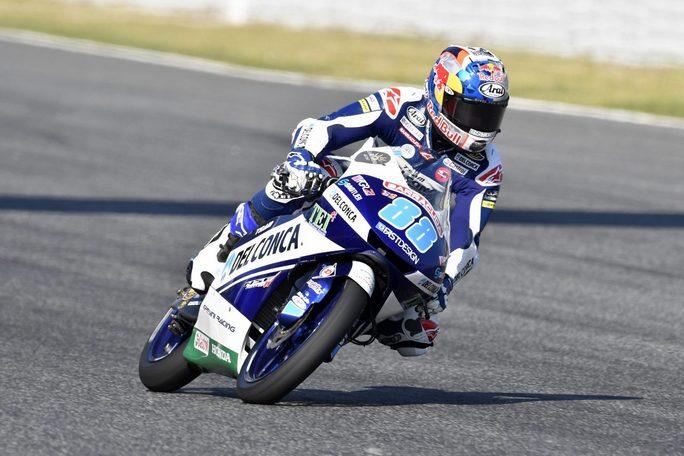 Moto3, Assen: Martin in pole, terzo Bulega