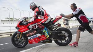 Superbike, Pirelli Riviera di Rimini Round, FP: buone sensazioni per Melandri