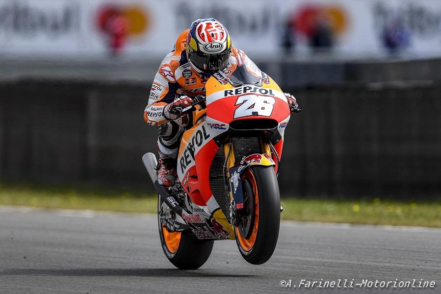 """MotoGP Assen: Pedrosa, 13° in gara, """"La gara è stata molto difficile"""""""