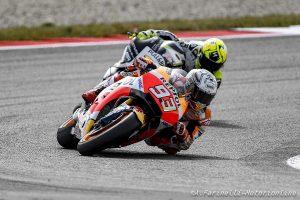 """MotoGP Assen: Marquez sull'ultimo gradino del podio, """"Sapevo che sull'asciutto avrei fatto fatica"""""""