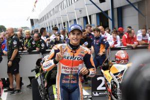 """MotoGP Assen: Marquez 2° tempo in qualifica, """"Fondamentale essere in prima o seconda fila"""""""