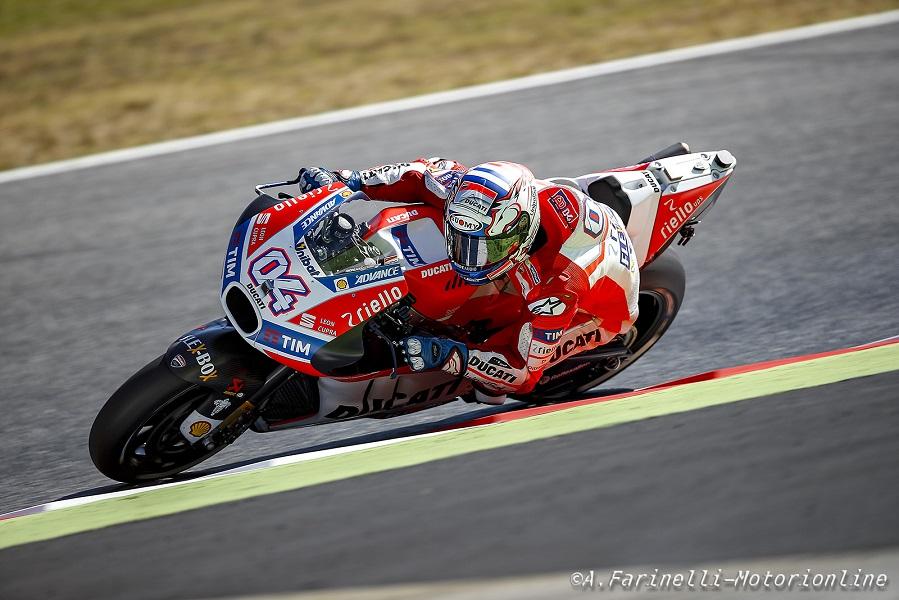 """MotoGP Barcellona: Andrea Dovizioso, """"E' una vittoria totalmente inaspettata"""""""