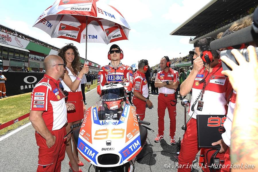 """MotoGP Barcellona: Lorenzo, """"Nei test sono stato il pilota Ducati più veloce"""""""
