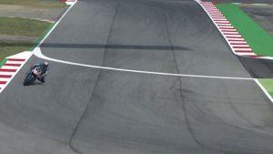 MotoGP Barcellona: Miller old version, solo la bandiera nera lo ferma