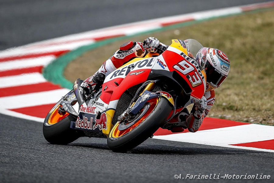 """MotoGP Barcellona: Marquez, """"Preferisco cadere 4 volte piuttosto che partire decimo"""""""