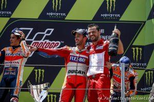 """MotoGP: Marquez """"snobba""""  Dovizioso"""