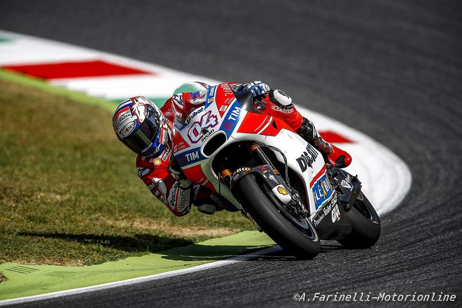 MotoGP Mugello, Gara: Incredibile Dovizioso, fa suo il Gp d'Italia. Sul podio Petrucci