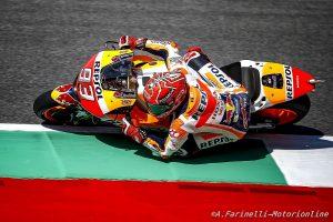 """MotoGP Mugello: Marc Marquez, """"E' un campionato fatto di alti e bassi, ho preferito non rischiare"""""""