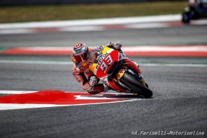MotoGP Test Barcellona: A fine giornata Marquez prende il comando della classifica dei tempi