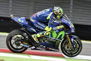 """MotoGP Assen Day 1: Rossi, """"Con il nuovo telaio mi trovo meglio"""""""