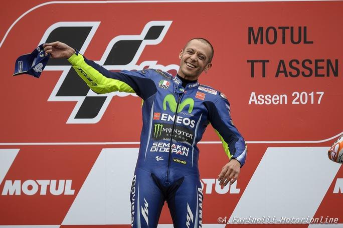 """MotoGP Assen: Graziano Rossi, """"Valentino uno strafigo, può vincere anche al Sachsenring"""""""