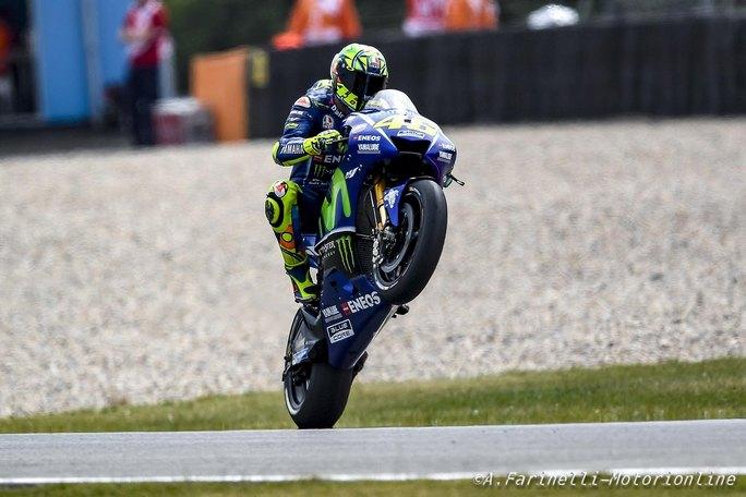 """MotoGP Assen: Valentino Rossi, """"Sono contento soprattutto per essere tornato alla vittoria"""""""