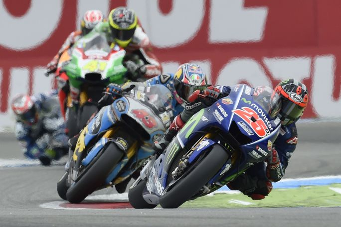 """MotoGP Assen: Vinales, """"Non so cosa sia successo quando sono caduto"""""""