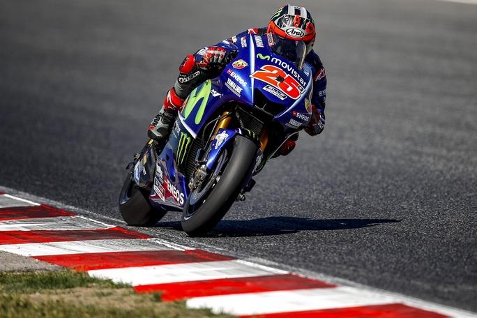 "MotoGP Assen: Vinales, ""Dobbiamo salire sul podio"""