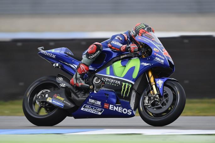 MotoGP Assen 2017: Maverick Vinales spicca nel venerdì di libere, Rossi sesto
