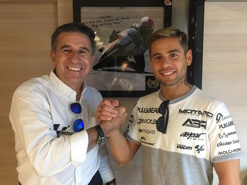 MotoGP, Alvaro Bautista rinnova con Ducati Aspar