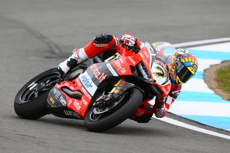 Superbike, Geico US Round, FP1: Chaz Davies al comando