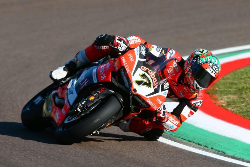 Superbike, Geico US Round, FP2: Davies rimane al top