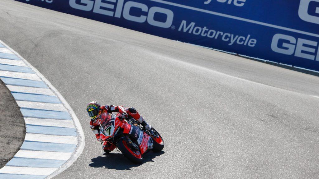 Superbike, Geico US Round, FP: Davies rientra in grande stile