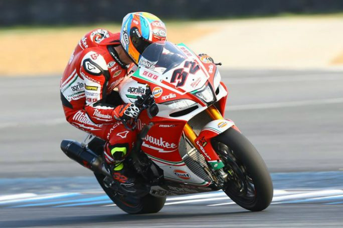 Superbike, Geico US Round, Gara2: top ten per Lorenzo Savadori
