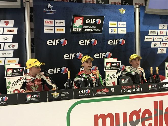CIV: Premoto3 250, Alfano vince ancora davanti a Bartolini e Gaggi