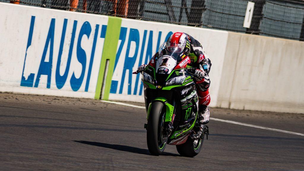 Superbike, Test Lausitzring: dominio Kawasaki