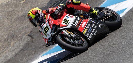 Superbike, Geico US Round, Gara2: prestazione solida per Xavi Fores