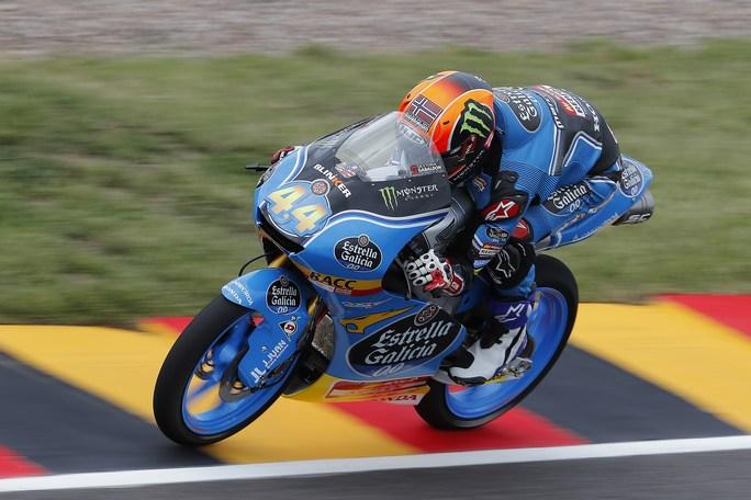 Moto3 Sachsenring: Pole position per Aron Canet, Bulega in prima fila