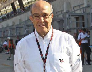 """MotoGP: Ezpeleta, """"Siamo felici con Michelin. Rossi? Perché ritirarsi?"""""""