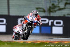 """MotoGP Sachsenring QP: Dovizioso, """"Peccato partire così indietro, sono deluso"""""""