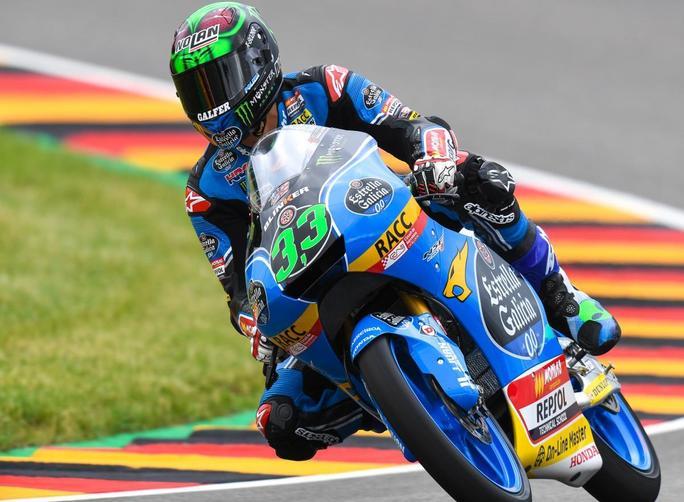 """Moto3 QP Sachsenring: Bastianini, """"Posso stare nel gruppo di testa"""""""