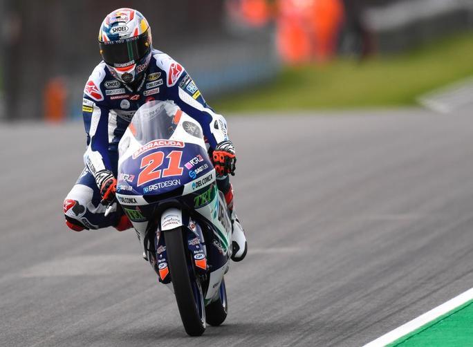 "Moto3 Gara Sachsenring: Di Giannantonio, ""Mi do la sufficienza"""