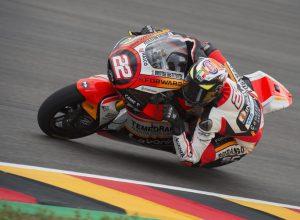 """Moto2 Gara Sachsenring: Fuligni, """"Un'esperienza che mi servirà molto"""""""