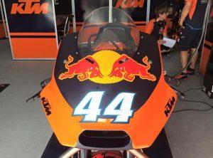 MotoGP: Miguel Oliveira in sella alla KTM RC16