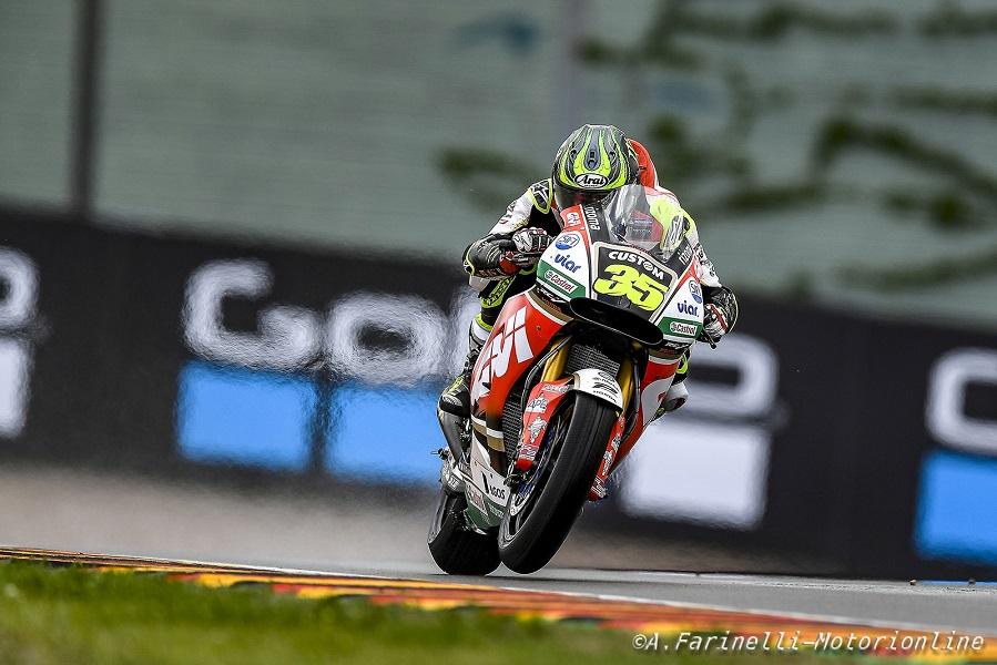 "MotoGP Sachsenring QP: Crutchlow, ""Vorrei prendere parte a una tripletta Honda domani"""