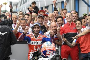 MotoGP: Danilo Petrucci rinnova con Ducati Pramac