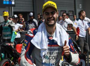 """Moto3 Gara Sachsenring: Fenati, """"Il secondo posto vale come una vittoria"""""""
