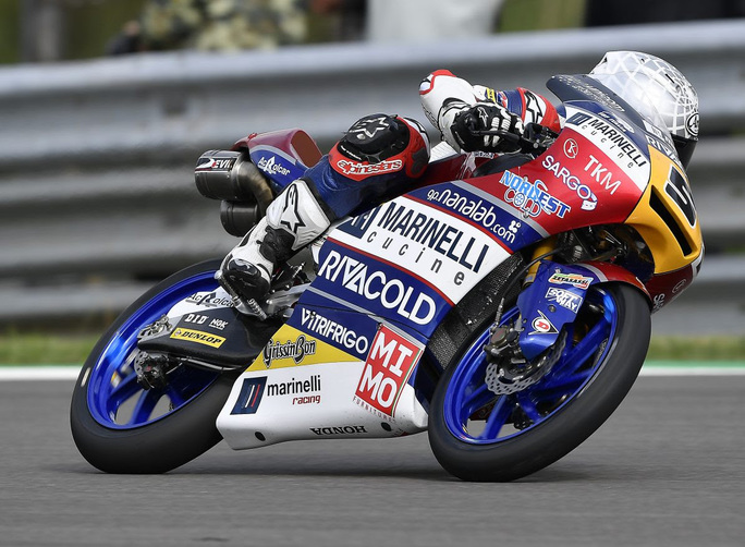 Moto3 QP Sachsenring: Fenati in sesta posizione
