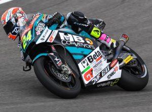"""Moto2 Gara Sachsenring: Corsi, """"Peccato aver mancato il podio per poco"""""""