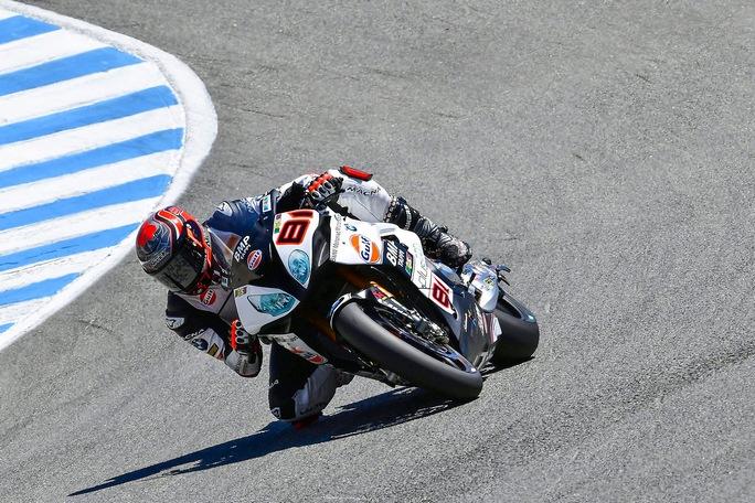 Superbike, Geico US Round, Gara2: domenica complicata per il Team Althea