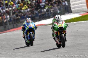 "MotoGP Silverstone, Day 1: A.Espargarò, ""Pista adatta alla mia Aprilia"""