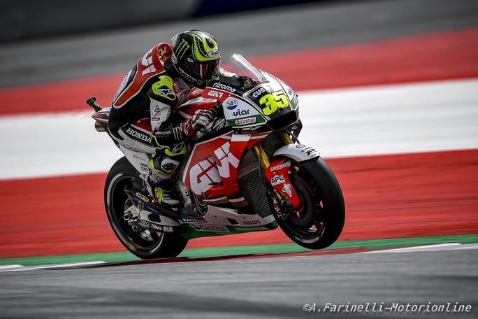 """MotoGP Austria, Qualifiche: Crutchlow, """"Sarà una gara strana"""""""