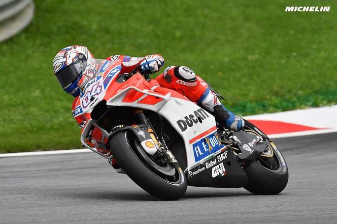 """MotoGP Austria Day 1: Dovizioso, """"E' andata molto bene"""""""