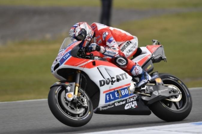 MotoGP Brno, FP2: Dovizioso è il più veloce, Petrucci è terzo, Rossi molto indietro