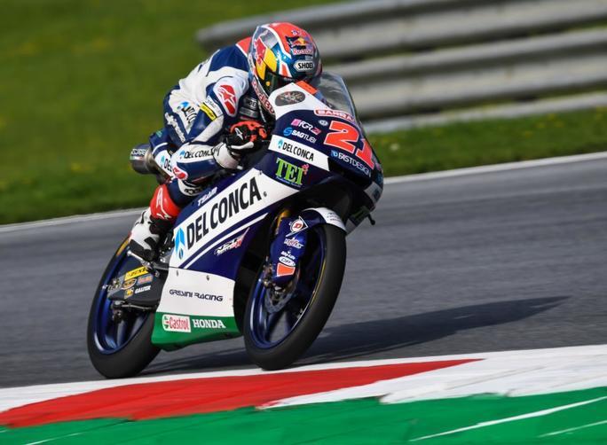 """Moto3 Austria Qualifiche: Di Giannantonio, """"Mi aspettavo qualcosa in più"""""""