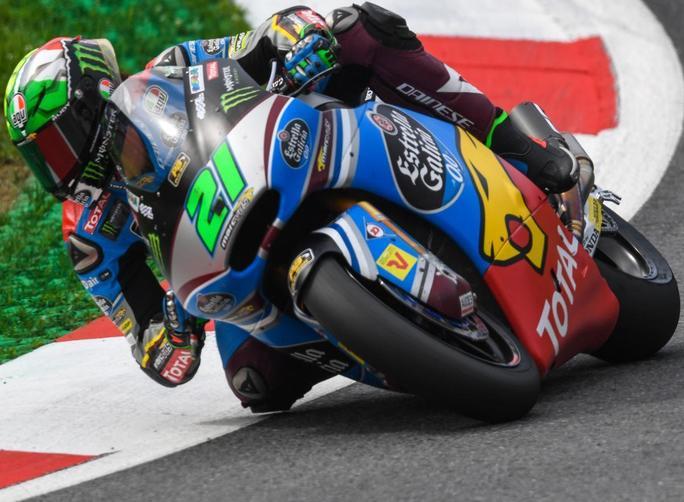 """Moto2 Qualifiche Austria: Morbidelli, """"Il mio passo gara è forte"""""""