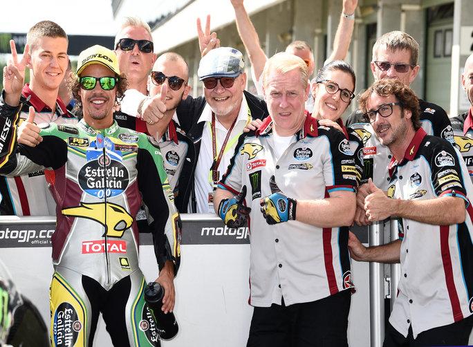 """Moto2 QP Brno: Morbidelli, """"Contento della prima fila"""""""