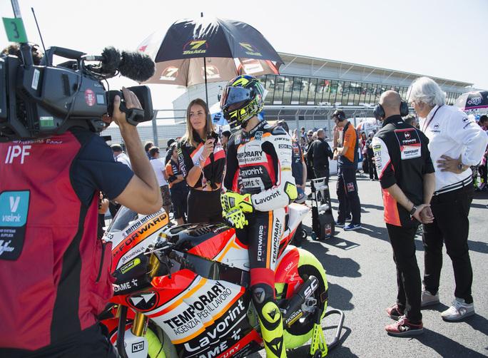 "Moto2 Silverstone Gara: Baldassarri, ""Sono deluso"""