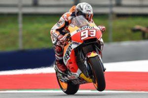 MotoGP Austria, FP3: Marquez alza la voce, sorpresa Iannone 3°, Rossi è 5°