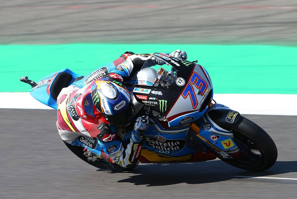 Moto2: Gb, Pasini in pole